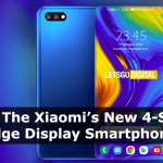 Xiaomi's Patent 4 sided edge display phone
