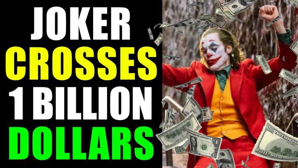 Joker crossed one billion dollars worldwide