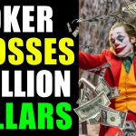 Joker crossed one billion dollars worldwide